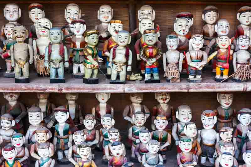 marionetas de agua hanoi