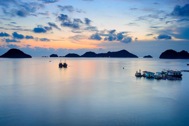 playas de cat ba vietnam