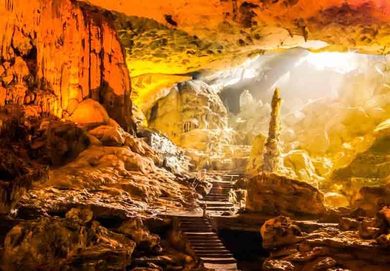 sung sot cave bahía de halong