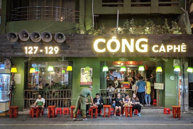 cong cafe hanoi