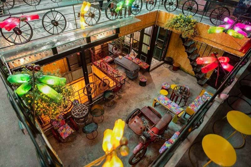 hidden gem cafe en hanoi