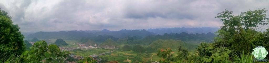 vistas de tam son, en ha giang loop