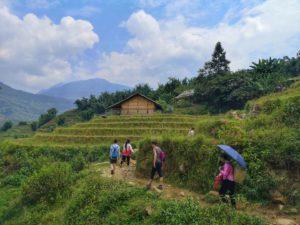 trekking en sapa, vietnam