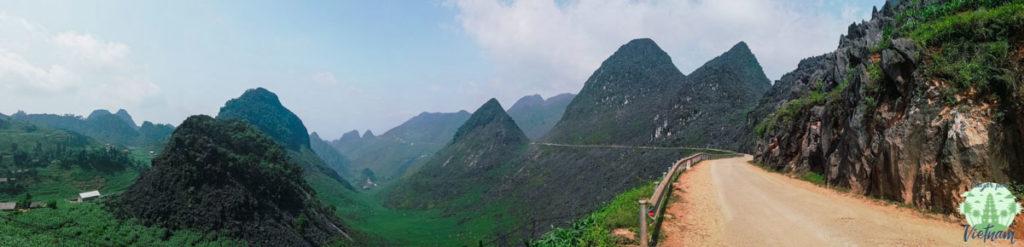 ruta por ha giang en moto