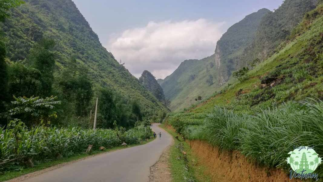 ruta por ha giang primer día