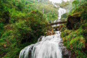 cascada de silver waterfall en sapa vietnam